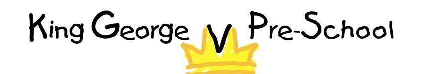 King George V Pre-School Logo